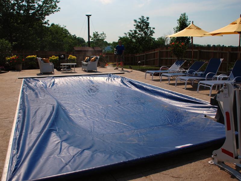 ... and for those pools with no cover at all. Mesh safety covers can last for over 20 years so they pay for themselves in longevity and peace of mind. & All American Pool | Pools